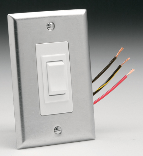 Stainless Steel 3-Position Wall Switch
