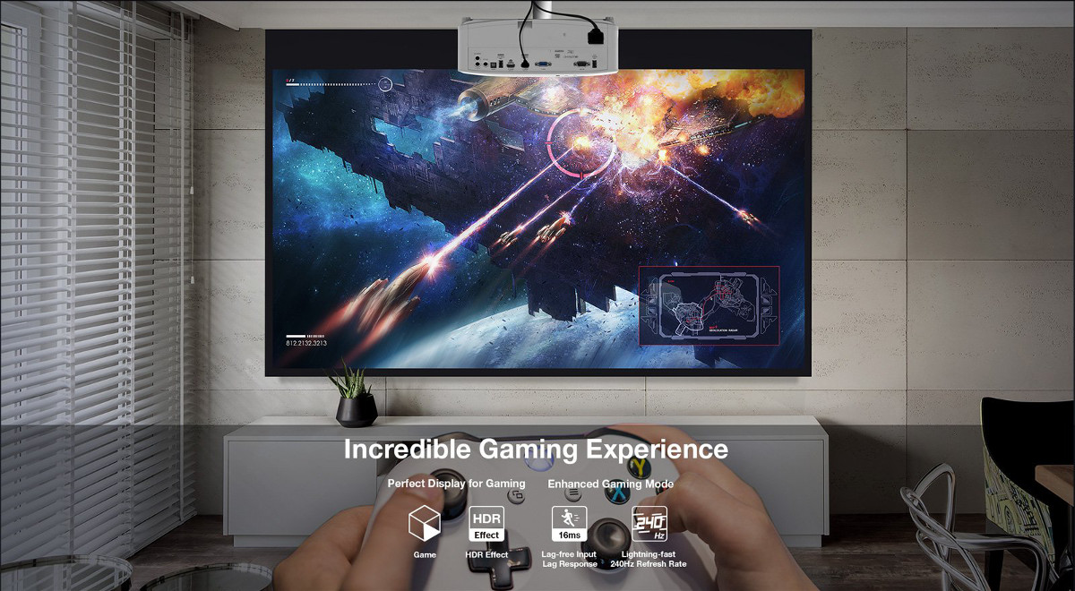 UHD30 - Incredible Gaming Experience