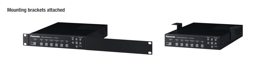 ET-YFB100G with mounting brackets
