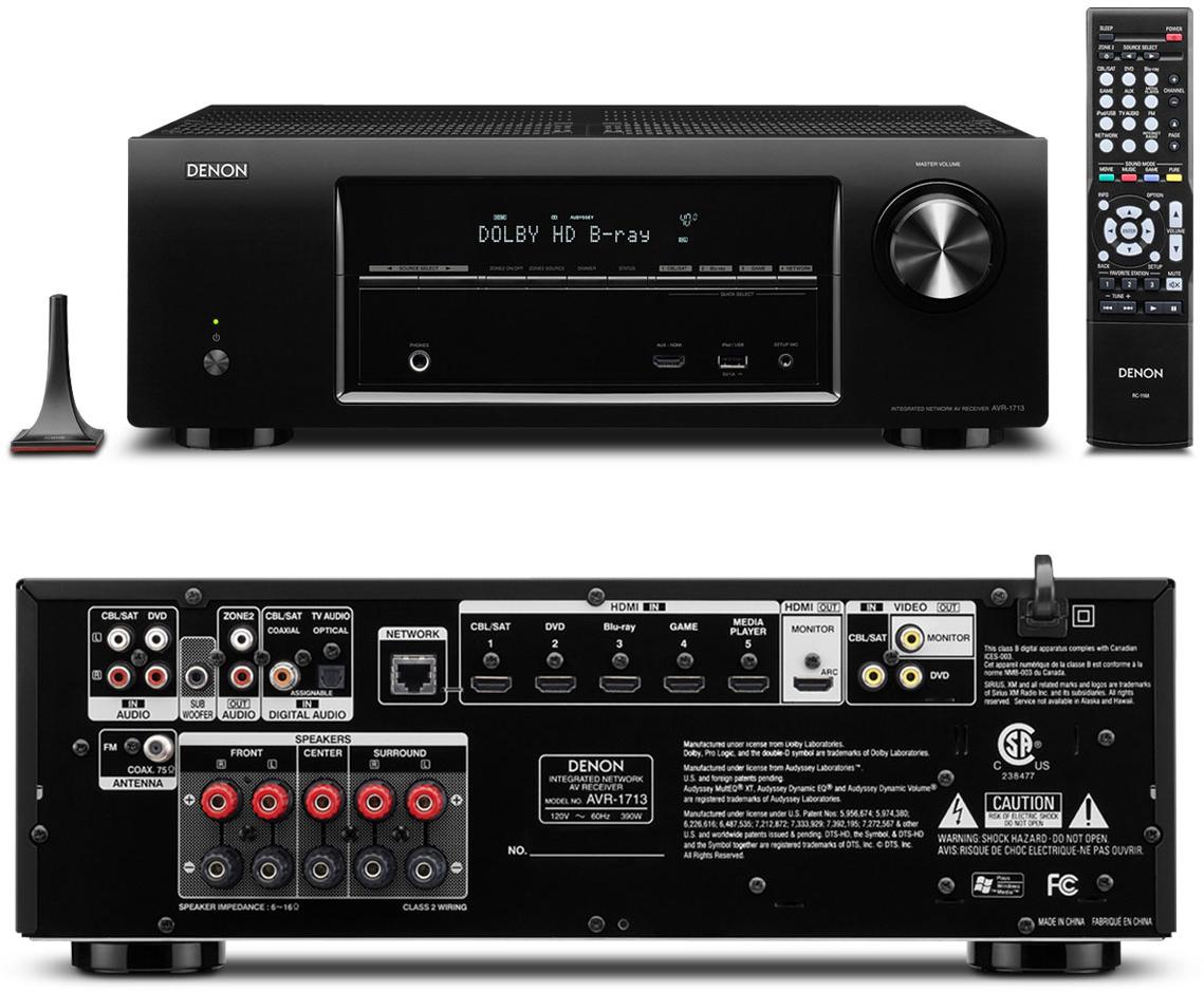 denon avr 1713 rh audiogeneral com Denon Rc 860 Users Manual Denon Service Manuals