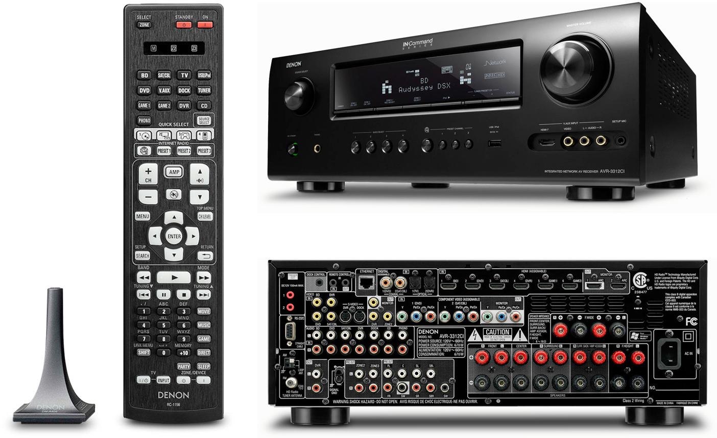 denon avr 3312ci rh audiogeneral com Denon Instruction Manual Denon AVR Manual